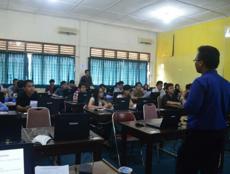 Workshop GameMaker di Unika St. Thomas